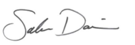 signature of Sabra Davison