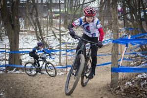 a Little Bellas racing at the 2017 US Cyclocross Championship