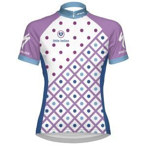 Little Bellas Polka Dot/Grid Custom Jersey