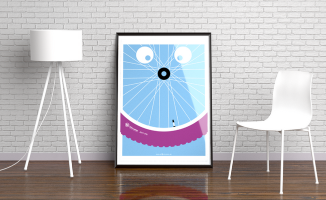 Smile for Every Mile Limited Edition print