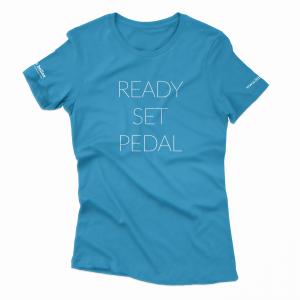 ready set pedal tee