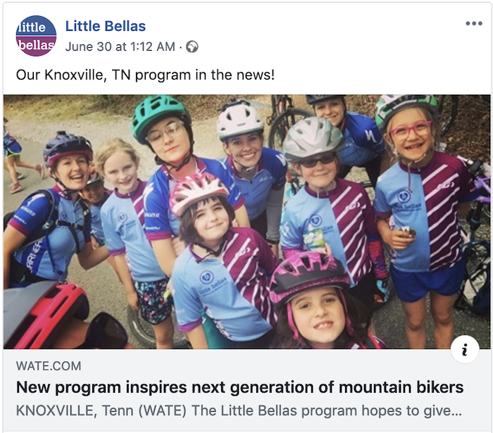 Little Bellas in the Knoxville news