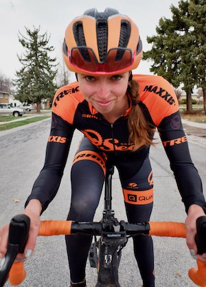 Hannah Finchamp back on the bike early in 2021